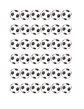Soccer Ball Border or Bands