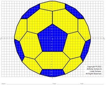 Soccer Ball (Coordinate Graphing)