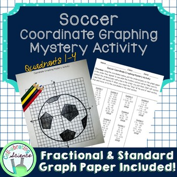 Soccer Ball Coordinate Graphing Mystery Activity