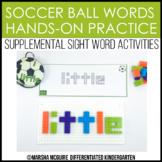 Soccer Ball Words - Sight Word Fine Motor Practice