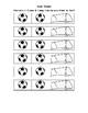 Soccer Behavior Plan - Stay in Class & Hands & Feet to Self/Safe Behavior