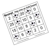 Soccer Bingo Times Tables Set 1