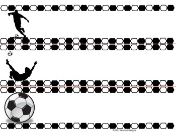 Soccer Border and Name Plates