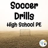 FREEBIE! High School PE Soccer Circuit Drills - Editable in Google Docs!
