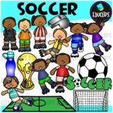 Soccer Clip Art Bundle {Educlips Clipart}