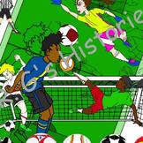 Soccer Clip Art Pack