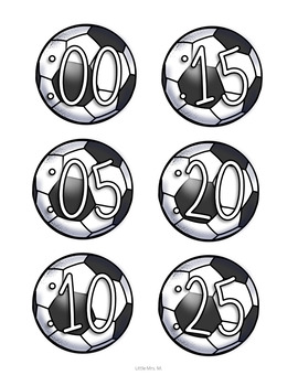 Soccer Clock Decor: For Your Sports Themed Classroom