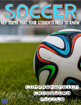 Soccer Comprehension Crossword