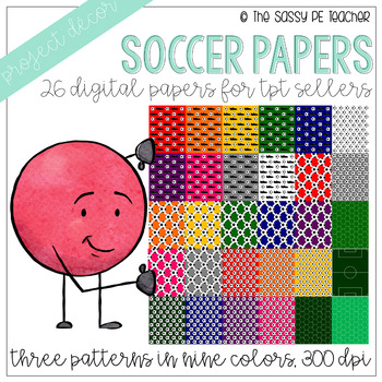 Soccer Digital Papers
