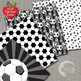 Soccer Digital Papers and Backgrounds, Football {Best Teacher Tools} AMB-1964