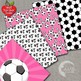 Soccer Digital Papers and Backgrounds, Football {Best Teacher Tools} AMB-1970