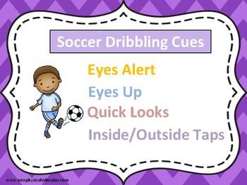 Soccer Dribbling Skills Poster