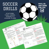Soccer Drills and Lesson Plan
