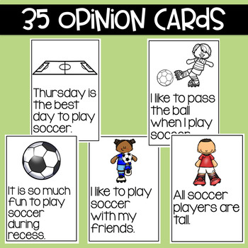 Soccer:  Fact and Opinion