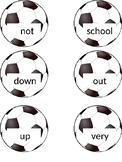 Soccer Flashcards for Wonders Series 1st grade