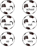 Soccer Flashcards for Wonders Series 1st grade