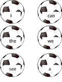 Soccer Flashcards for Wonders Series