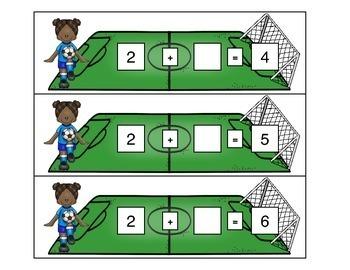 Soccer Fun! Math centers