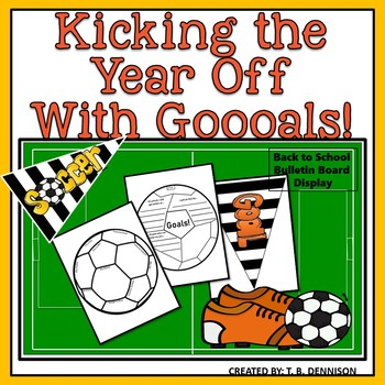 Soccer Goals Bulletin Board Display