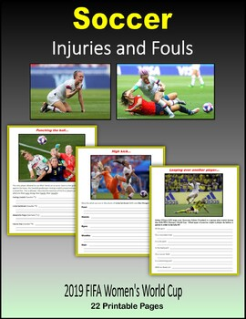 Soccer Injuries and Fouls (2019 FIFA Women's World Cup)