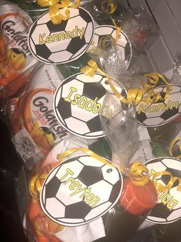 Soccer Labels