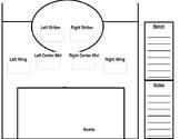 Soccer Line Up (Editable)