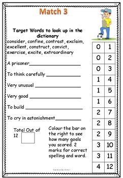 Soccer Literacy and Numeracy
