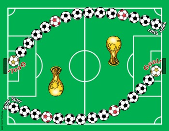 "Soccer Math Skills & Learning Center (Add & Subtract ""Like"" Fractions)"