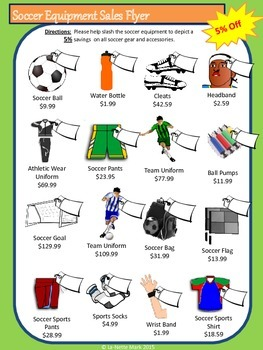 Soccer Math for Middle School