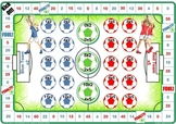 Soccer Maths - Times Tables Board Games