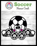 Soccer Name Craft, Literacy Center Activity: Sports Themes