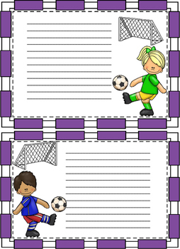 Soccer Notes for any occasion