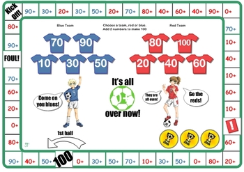 Soccer Number Facts to 100