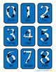 Soccer Number Flashcards