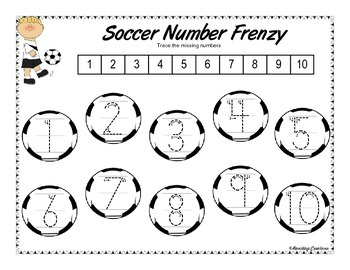 Soccer Number Frenzy