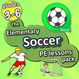 Soccer PE lessons - Sport unit with plans, drills, skills