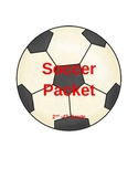 Soccer Packet 2nd-4th Grade