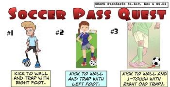 Soccer Pass Quest Skill Progression PE - 8 Levels!