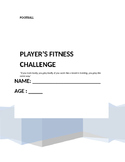 Soccer Fitness and Reflection Journal