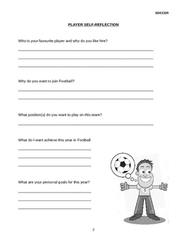 Soccer Skills and Fitness Journal
