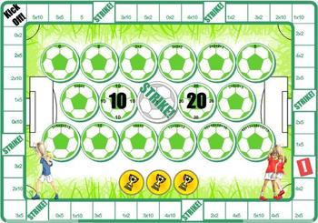 Soccer Repeated Addition Vs Multiplication Games