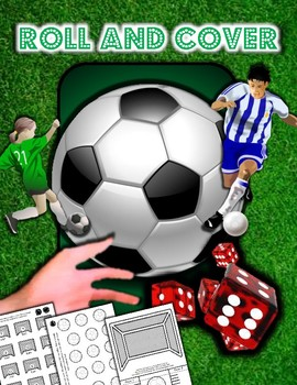 Soccer Roll and Cover Activities / Templates