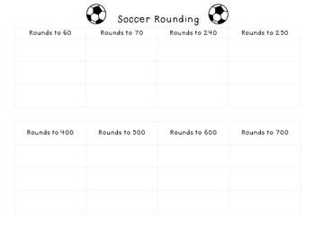 Soccer Rounding