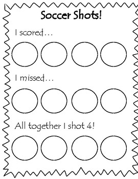 Soccer Shots -  Number Bonds & Addition 4 & 5
