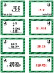 Soccer Showdow Game Cards (Add & Subtract Decimals) Sets 4-5-6