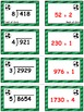 Soccer Showdown Game Cards (Division with 3- & 4-Digit Dividends) Sets 4, 5, 6
