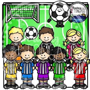 Soccer Clipart Bundle