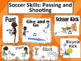Soccer Skills Posters: Passing and Shooting