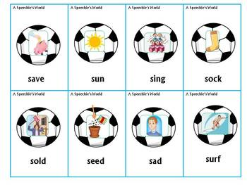 Soccer Speech and Language Activities