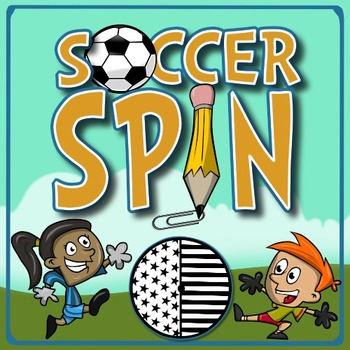 Soccer Spin - A Kindergarten Math Game of Probability, Pre